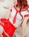 Uniforme escolar japonês estudantes sexy uniforme lingerie trajes para estudante estudantes eróticos mini vestido