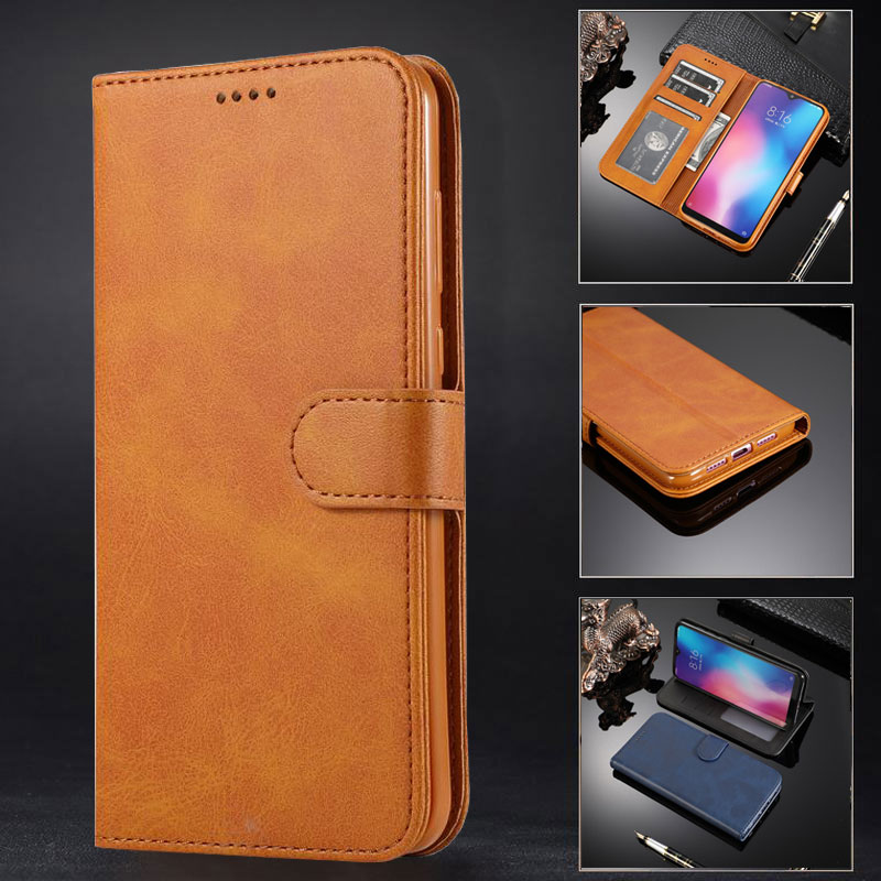 Wallet Case For Xiaomi Redmi Note 7 5 6 Pro Cover Case Xiaomi Mi 9 SE 8 S2 A2 Lite Pocophone Poco F1 Y3 6X Mobile Phone Housing