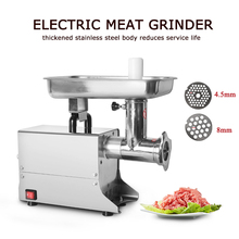 GZZT 80kgs/h Commercial Meat Grinder Multifunctional Stainless Steel Electric Meat Mincer Food Chopper Sausage Filling Machine стоимость