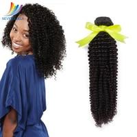Sevengirls Kinky Curly 10A Hair Brazilian Hair Weave Bundles 10 30 Inch Human Hair Bundles Unprocessed Virgin Hair Free Shipping