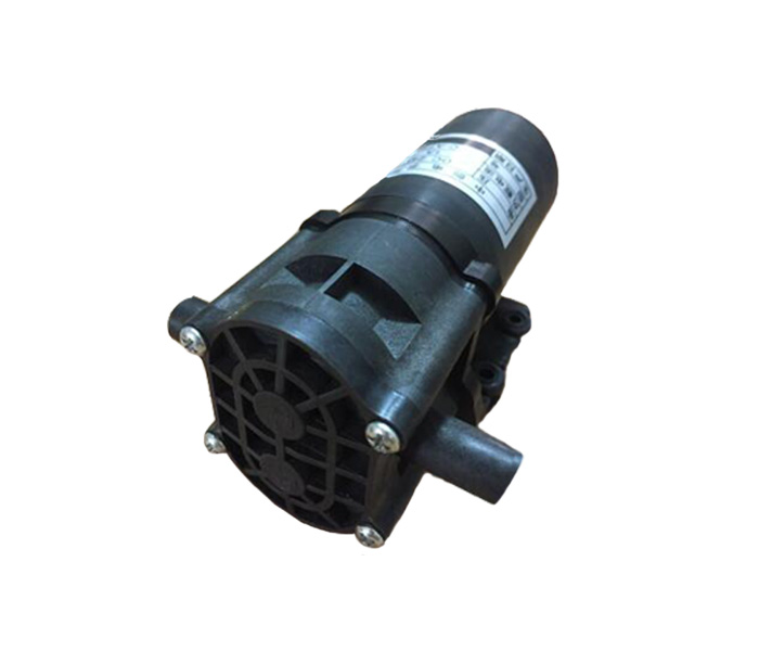 24 v Micro Pompe À Engrenages À Haute Température Résistant À La Corrosion DC Auto-amorçage de La Pompe Haute Pression Pompe De Pompage