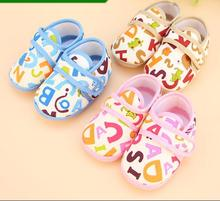 Newborn shoes slip-resistant outsole 0 soft cotton-padded shoes cotton-made shoes spring and autumn single shoes male toddler