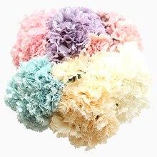 Искусственный шелковая Гвоздика Моделирование Цветы для домашнего декора Свадьба фестиваль стены Искусственные цветы день матери подарки