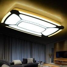 Пульт дистанционного управления crystal потолочное освещение современные светодиодные потолочные светильники для гостиной спальня светильники Блеск для Домашнего Декора освещения