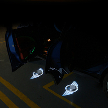 цена на Welcome Light Door Led Projection Lamp Laser car styling accessories For BMW MINI COOPER S JCW F54 F55 F56 F60 R56 R60 CLUBMAN