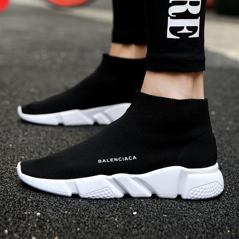 Для мужчин кроссовки летние Обувь с дышащей сеткой унисекс прогулочная Обувь Легкая удобная Модная мужская повседневная обувь для открытый человек