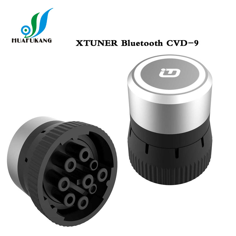 XTuner CVD Heavy Duty Scanner original XTUNER Bluetooth CVD-9 on Android Commercial Vehicle Diagnostic Adapter