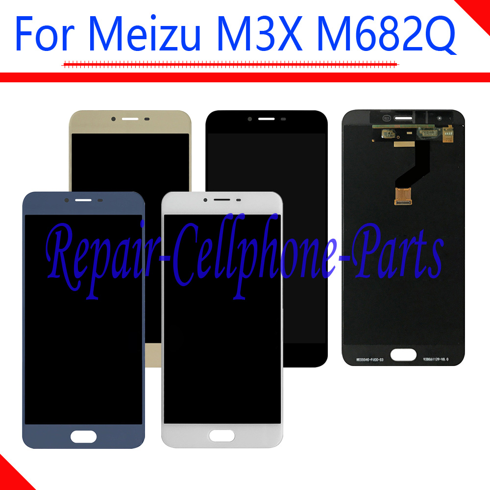 5.5 New For Meizu M3X M682Q / Blue Charm X ( Meizu Meilan X ) Full LCD DIsplay + Touch Screen Digitizer Assembly5.5 New For Meizu M3X M682Q / Blue Charm X ( Meizu Meilan X ) Full LCD DIsplay + Touch Screen Digitizer Assembly