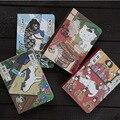 1 шт. креативный японский блокнот с кошкой, планер, дневник, ежедневник с жестким покрытием, ежемесячные документы для планирования, дневник,...