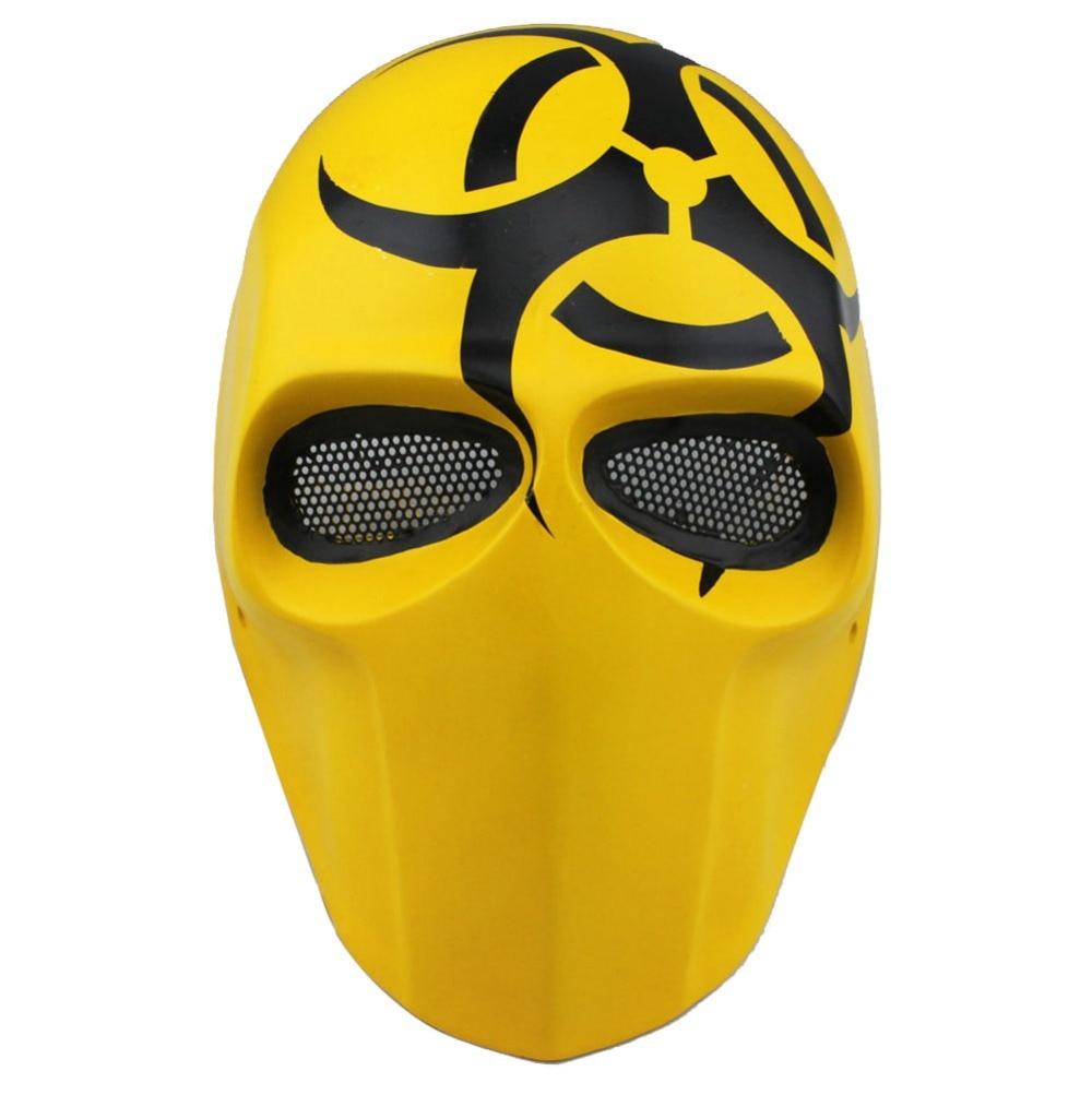 Halloween Costume BB Gun Skull Masks Custom Army of Two Cosplay ...