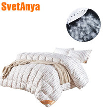 Lovely sheeps pattern duck/goose down duvet comforter quilting winter blanket high end 40s cotton Twin/Queen/King Size quilt