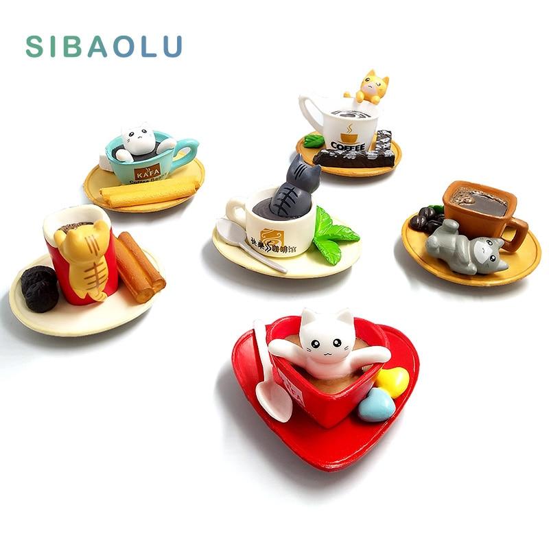 Десерт декорация котка миниатюри прекрасен сладък фея градина мъх терариум декор занаяти бонсай коте Microlandschaft пот култура  t