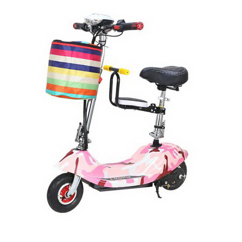 Cheap 261025/Ladies mini folding car bicycle scooter adult student portable two rounds/Scrub pedal 30-50km/h velo electrique 3