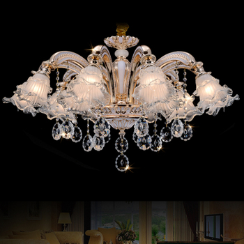 Murano Glass Chandelier Modern Living Room Crystal Chandelier Lighting Decorative Chandeliers for Home led Dining Room Lighting