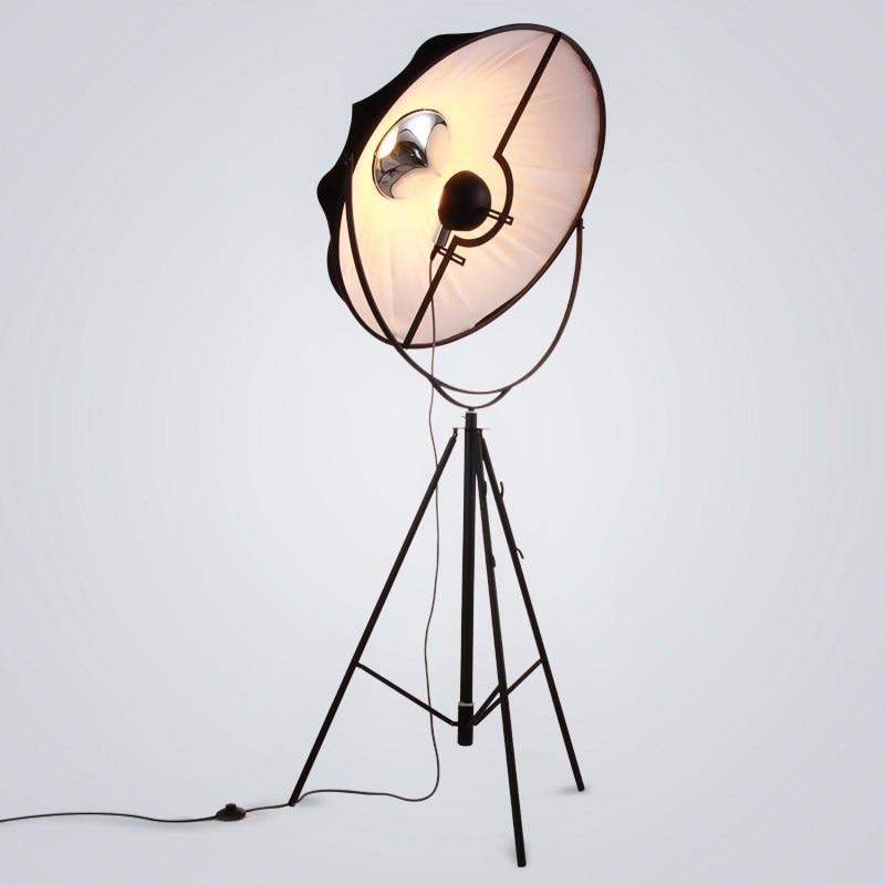 Modern Free Standing Lamps for Living Room Sofa Radar Satellite Floor Lamp Nordic Art Photography Lighting Seat Standing Room in Floor Lamps from Lights Lighting