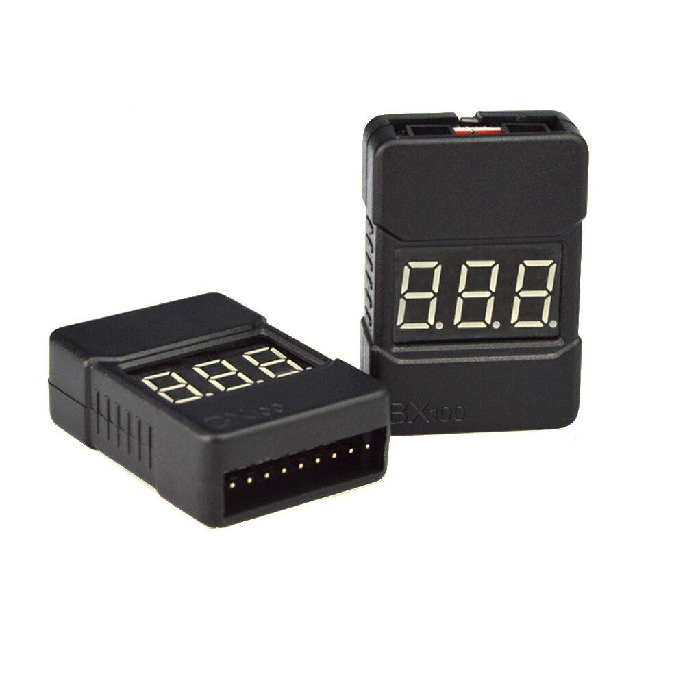 1pcs HotRc BX100 1 8S Lipo font b Battery b font Voltage Tester Low Voltage Buzzer