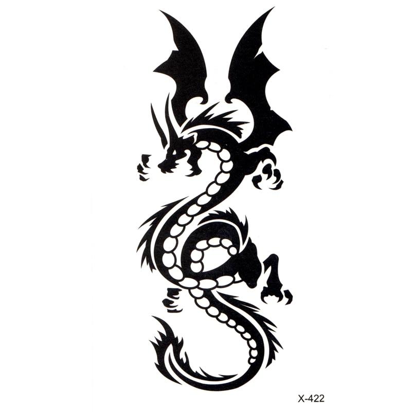 Dragon totem Waterproof Temporary Tattoo Sticker Body Art ...