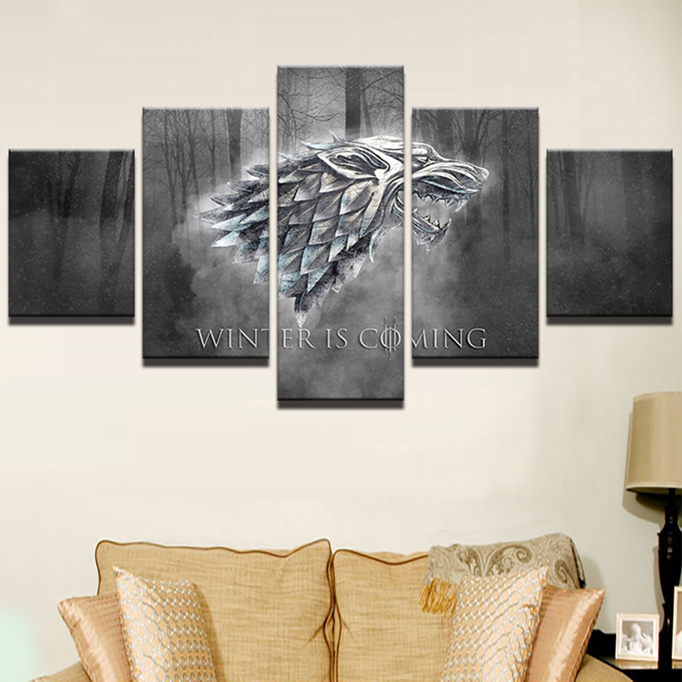Modular, Poster, Panel, Living, Decor, Thrones