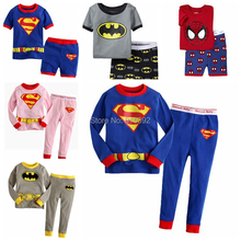 Весна мультфильм Мышь детские пижамы комплект для малышей Обувь для девочек мальчик одежда для сна пижамы, домашняя одежда детская Костюмы