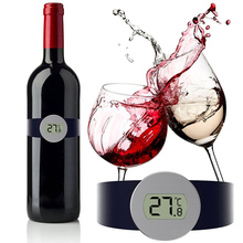 MOSEKO Digital Read Thermometer Champagne and Wine Bottle Snap with LED Display for Enthusiast