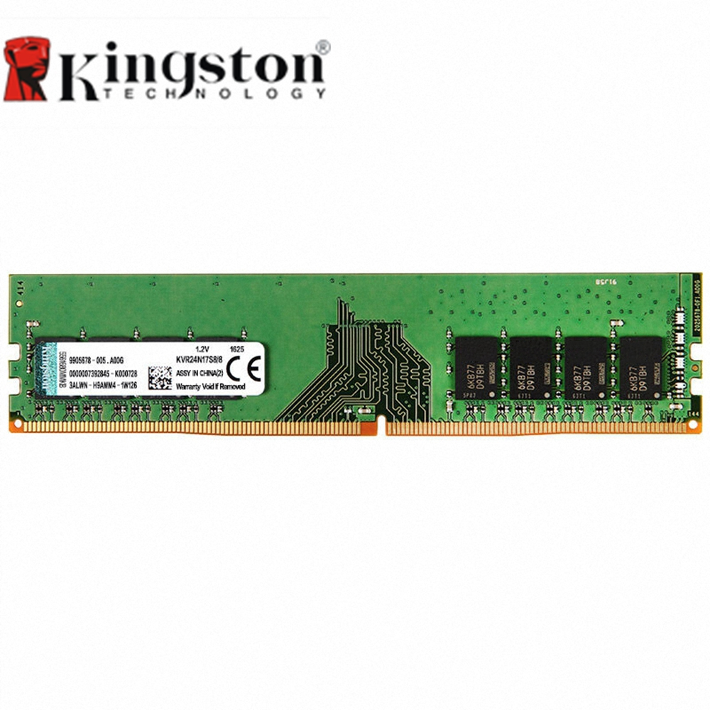 Kingston DDR4 RAM 8GB 4GB High Speed 2400Mhz Memory Ram Intel Gaming Memory For Desktop Memory Sticks 1.2V 288 Pin PC Memory RAM kingston ram memory ddr4 hyperx fury 4gb 8gb 16gb 2400mhz ddr4 ram memory intel memoria ram desktop pc computer memory stick