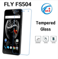 Tempered Screen Protector For Fly FS504 Cirrus 2 Tempered Glass Film For Fly Cirrus 2 FS504 Phone Accessories