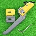 KELUSHI Бесплатная доставка Оптический Кабель Оболочка Резки Kms-k продольная кабельный резак, кабель зачистки нож, зачистки