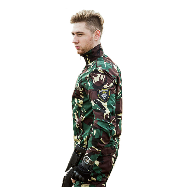 8b9a67fc404c9 Outdoor military equipment Tactical gear Military uniform Camping hunting  clothing men Military camouflage Exercito,Jacket+Pants