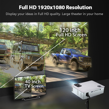 Proyector AUN AKEY5 Full HD 4K LED Android opcional