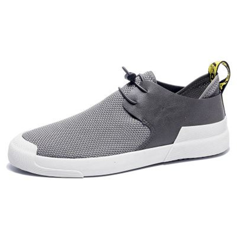 Breathable Mesh Sneakers Slip on Sport Shoes Men Casual Shoes Summer Male Fashion Footwear Walking Mens Loafers Tenis Zapatillas in Men 39 s Casual Shoes from Shoes