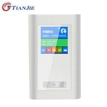 2016 FDD-LTE Odblokować GSM 4G Router Wifi Przenośny Globalny Bezprzewodowy Dongle Dwie Karty SIM Gniazdo RJ45 Modem Port 5200 MAh Banku Mocy