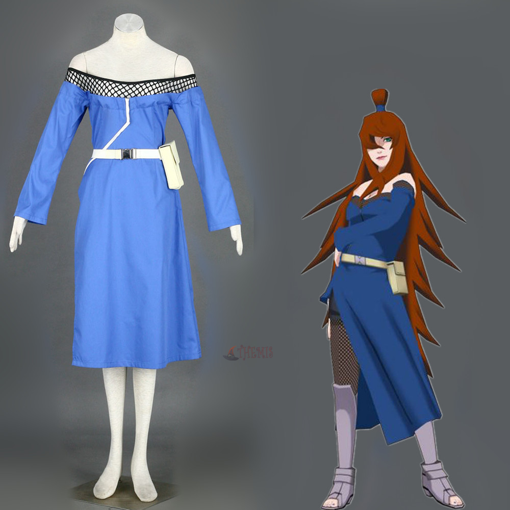Athemis Anime Terumi Mei Naruto Cosplay costume and cosplay clothes custom made