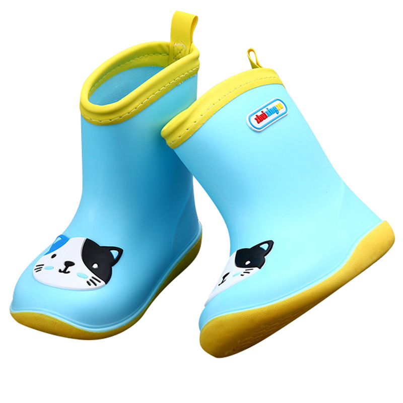 Casual Shoes Fashion Summer Shoes Children Outdoor Flat Boot Autumn Kids Rain Boots Anti-Skid Water Shoes Boys Girls Rainboots стоимость