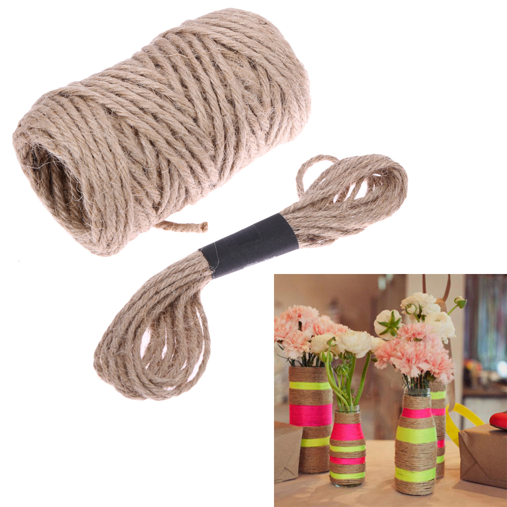 Decorative Rope Wrapping