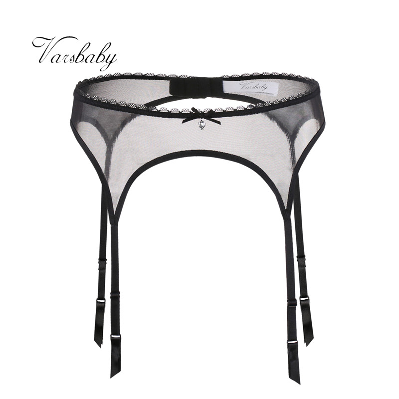 Varsbaby ladies sexy lace transparent solid underwear for women S M L XL garters|Garters|   - AliExpress
