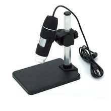 Best price 8 LED Lights Illuminant 1X-500X USB Zoom Camera Magnifier Portable Digital Video Microscope with Stand