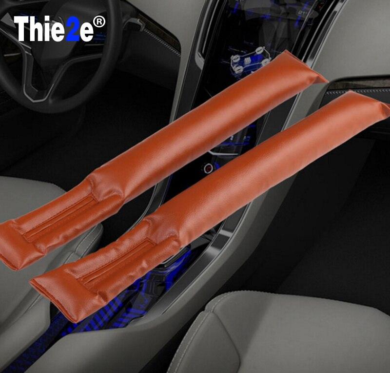 Seat Gap Filler Pad For Chevrolet Cruze Aveo Captiva Lacetti Mazda 3 6 2 CX-5 Mitsubishi ASX Lancer Outlander Pajero Accessories