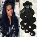 8A Mink Brazilian Virgin Hair 3 Bundles Nature Black Color Meches Bresilienne Lots  Mink Brazilian Hair Brazilian Body Wave