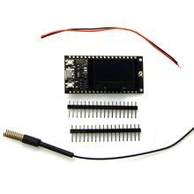цены TTTGO LORA SX1278 ESP32 0.96 OLED 32Mbit 433Mhz For Arduino