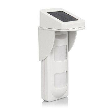 solar powered outdoor pet friendly motion sensor pir detector for wifi gsm alarm g90b security alarme