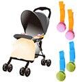2 unids Manta Clip Delicado Brillante Multicolor Clips Accesorios Cochecito Cochecito de Bebé Manta Tipi # LD789
