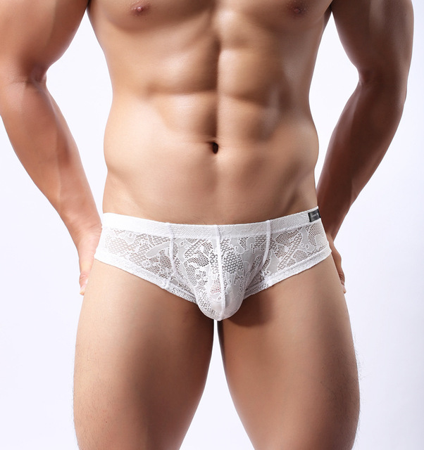 100% de satisfacción más cerca de fabricación hábil € 2.69 25% de DESCUENTO 1 piezas de ropa interior de encaje para Hombre  Ropa interior sexy Lencería barata calzoncillos cortos transparentes gay  sexy ...