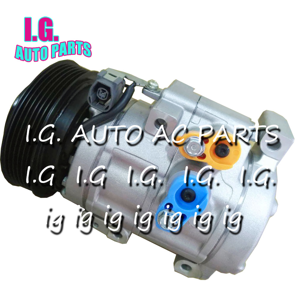 Pour Mazda CX-7 CX7 M6 2.5L voiture AC compresseur pompe avec embrayage pour Mazda 6 2.5L 6 rainures voiture AC réparation pièces