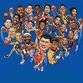 20 видов НБА творческий наклейки для Багажа Холодильник Скейтборд Ноутбука Телефон Стиль дома Игрушки Наклейки pegatinas adesivos