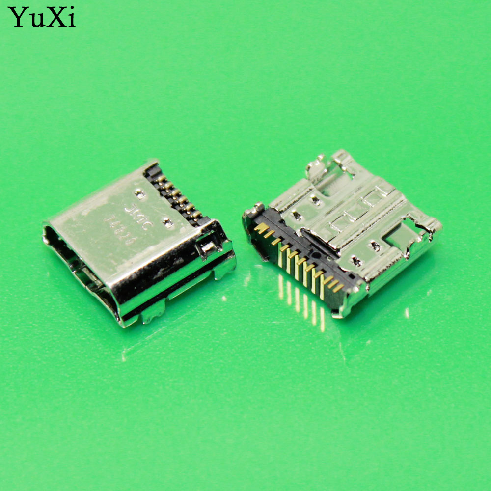 YuXi 10-100 pcs/lot OEM Dock micro usb jack socket Connector charger Charging Port for Samsung Galaxy Tab 3 7.0 SM-T210, SM-T211