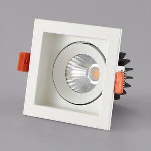 Image 2 - LED النازل LED بقعة ضوء 12 واط COB المنزل الإضاءة لغرفة المعيشة غرفة نوم مصباح السقف ساعة الوقواق مكافحة وهج الأضواء