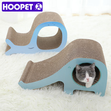 Board-Pad Scratcher Corrugated HOOPET Cat Claws-Care-Toys Cat-Training-Toy Kitten Bed-Mat