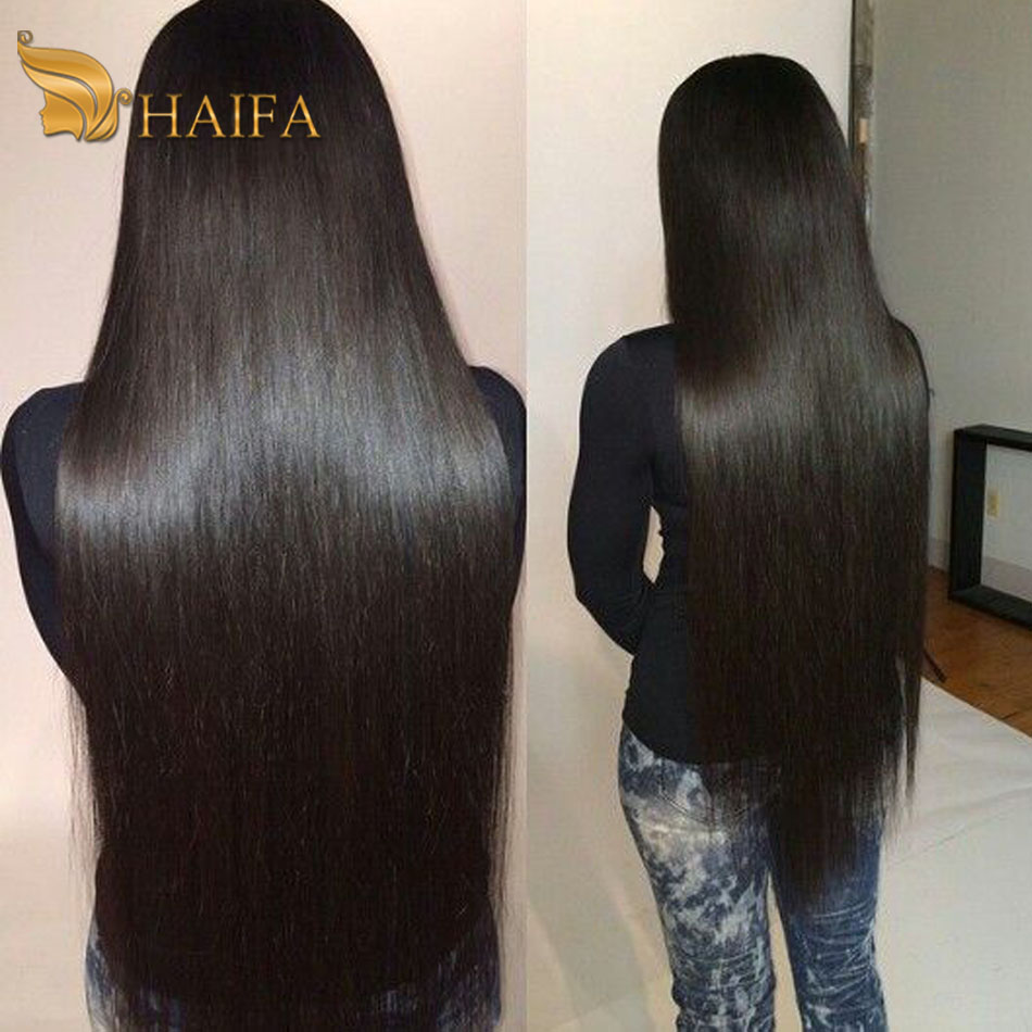 Straight hair perm products - Haifa Hair Products European Virgin Hair Straight 1 Pcs Weave Bundles 7a Haifa Hair Company Good