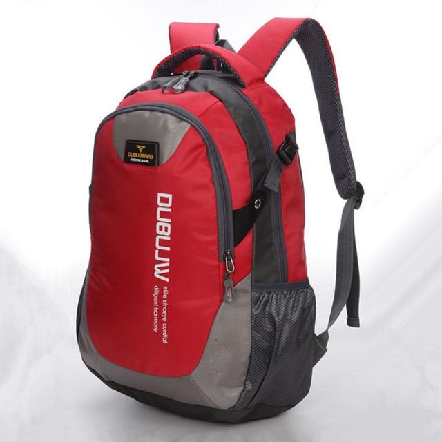 Свободного покроя спорт двойной плечо путешествие рюкзак H274