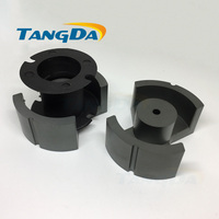 Tangda PM Type PM73 P73 soft ferrite core magnetic core + skeleton for transformer PC40 high frequency ( PM74 P74 ) AG